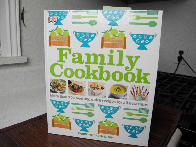 a review of family cookbook written by celebrity chef caroline