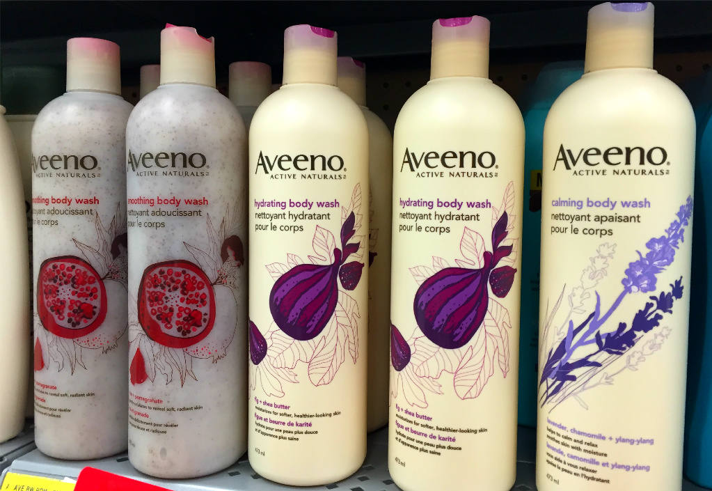 Aveeno Active Naturals Hydrating Body Wash Review.