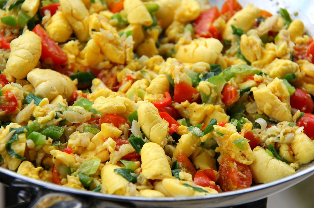 Jamaican ackee and saltfish recipe for Salted cod fish near me